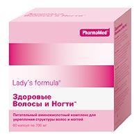 Ladys formula здоровые волосы и ногти